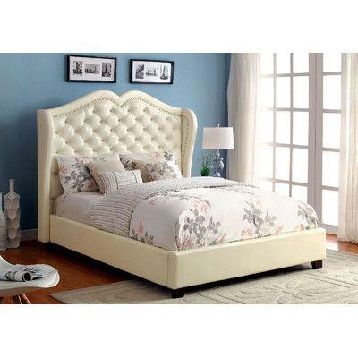 A J Homes Studio Upholstered Platform Bed Products Pinterest