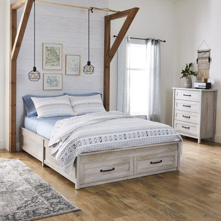 Pin On Pretty Platform Bed