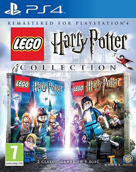 Lego Harry Potter 1 7 Collection Ps4 Playstation Spiele Playstation Geschenk Play Station 4 Geschenkideen Pla Harry Potter Sammlung Harry Potter Spiele Lego