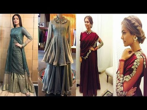 0d6b2b30680d Designer dresses 2018 new dresses designs collection of Indian style new.