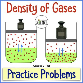 This Is A Practice Problem Worksheet That I Use When Teaching The Gas Laws To My Chemistry Classes Ideal Gas Law Free Kindergarten Worksheets Science Student