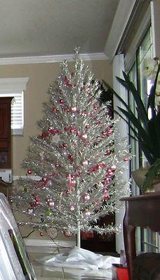 Vintage Christmas Tree Aluminum