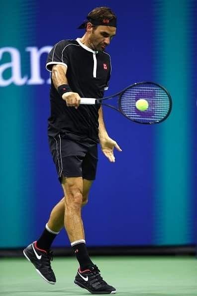 Us Open 2019 Round 1 Roger Federer Tennis Stars Tennis Fashion