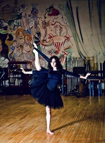 Improving side extension   dance   Dance tips, Ballet