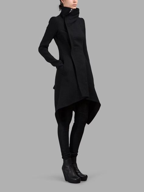 I wish I could afford a Rick Owens coat :)