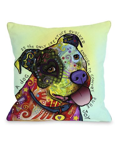Love this Pure Joy Throw Pillow on #zulily! #zulilyfinds