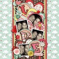 A Project by mrshobbes from our Scrapbooking Gallery originally submitted 01/14/12 at 01:01 AM