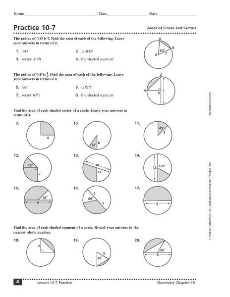Made by Teachers: Free High School Geometry Worksheets