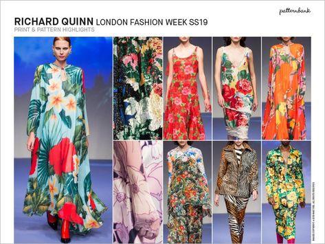 Spring/Summer RTW 2019 Catwalk Print & Pattern Trend Report | Patternbank