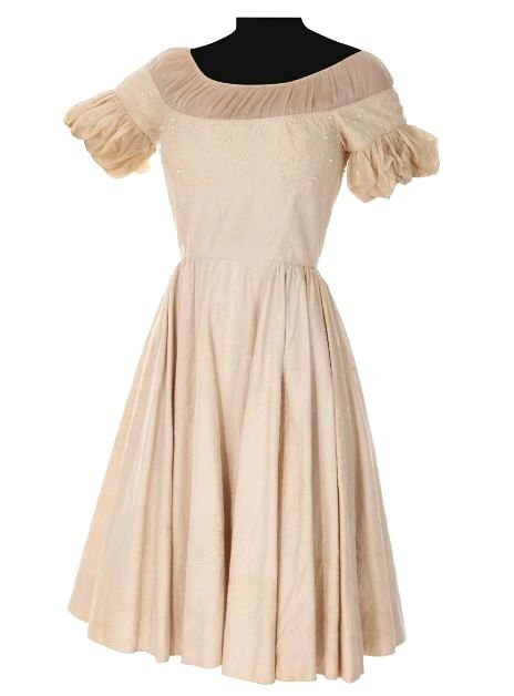 The original party dress which Liesl (Charmian Carr) wore for the Sound of Music party scene is now up for auction! http://www.edelweisspatterns.com/blog/?p=3950  http://www.edelweisspatterns.com/blog/?p=3950