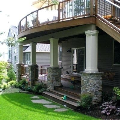 Deck Ideas For Walkout Basement In 2020 Patio Under Decks