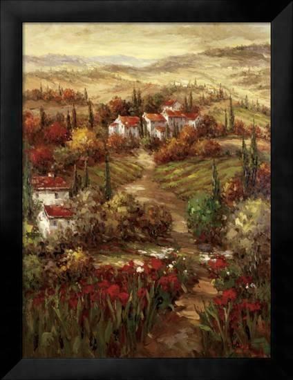 ITALY ART PRINT Tuscan Vista Normand Mayer