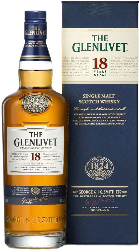 The Glenlivet Master Distiller Alan Winchester uses a variety of casks — both first- and second-fill — to age this whisky, which won Double Gold at the San Francisco World Spirits Competition in 2015.