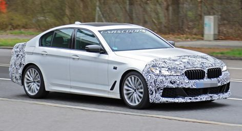 Phew 2021 Bmw 5 Series Facelift Dodges Huge Grille Trend Bmw
