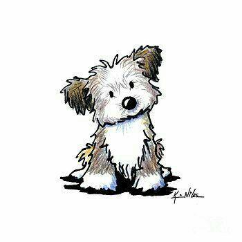 Pin By Julie Ghalieh On Art Journal Smash Book Ideas Havanese Puppies Puppy Art Havanese