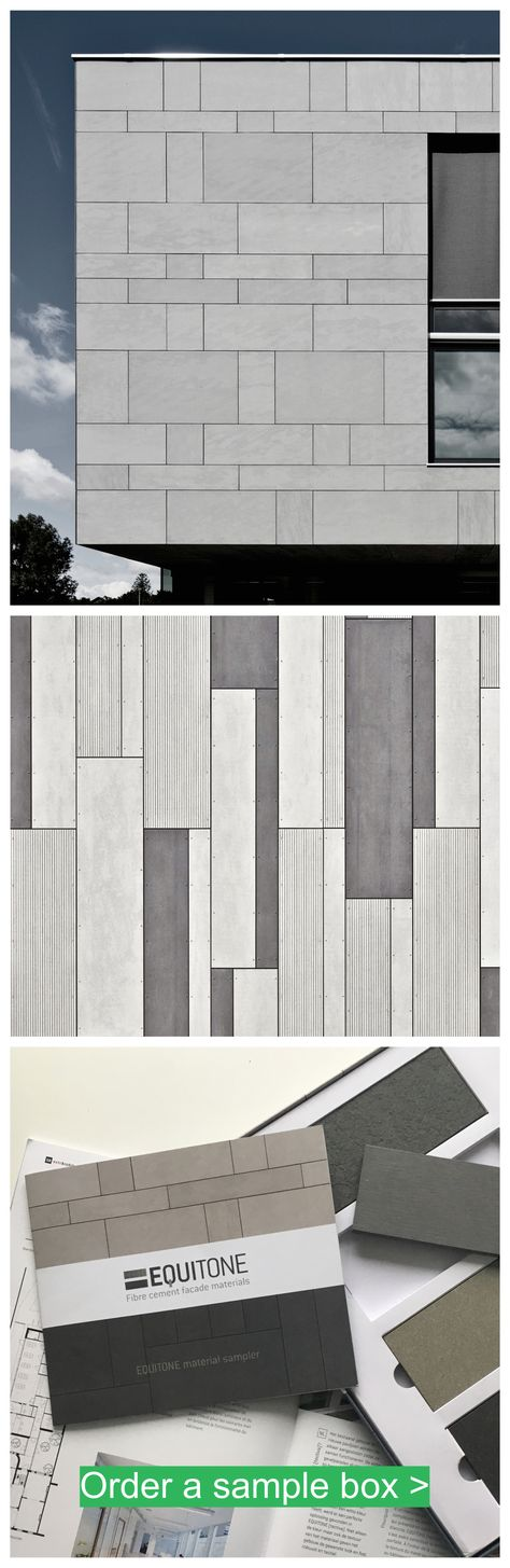 Facade materials designed by architects. equitone.com