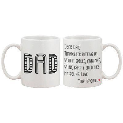 365 Printing Inc Dear Dad Coffee Mug
