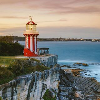 Catch A Scenic Ferry Ride From Circular Quay To Watsons Bay And Hike Up The Historic Red And White Striped Hornby Scenic Lighthouse The Grounds Of Alexandria