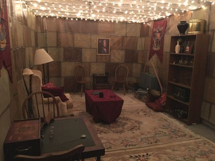 Detailed Write Up Of A Diy Harry Potter Escape Room Created As Part Of A Marriage Proposal Will She Find T Escape Room Diy Escape Room Harry Potter Room Decor