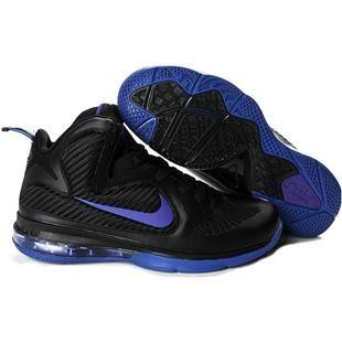 Nike LeBron 9 Black/Blue Sport