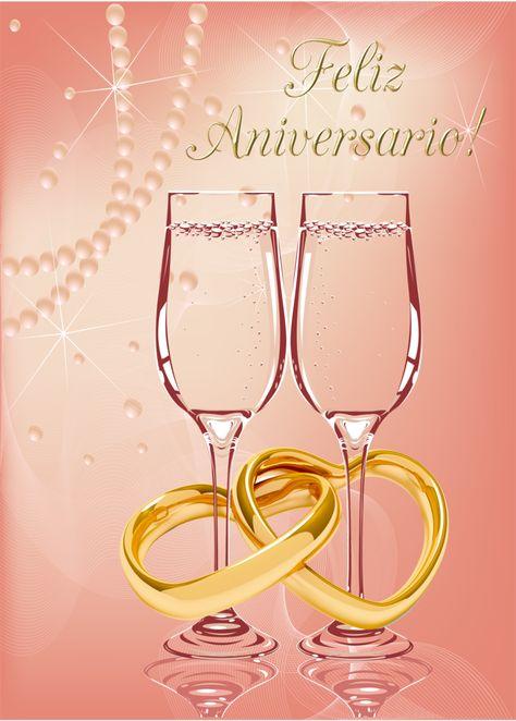 Tarjeta Feliz Aniversario De Boda By Bbvzla Com Imagens Feliz