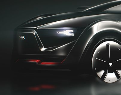 Bugatti SUV Concept 2030 | car | Transportation design, Bugatti, Cars