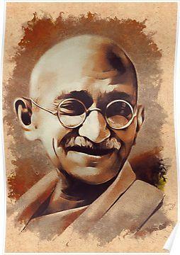 Mahatma Gandhi Poster By Serpentfilms In 2020 Poster Drawing Save Water Poster Drawing Mahatma Gandhi Photos