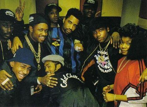 Big Daddy Kane, Roxanne Shante, Kool G Rap, Mister Cee, DJ Polo, Cool V, MC Shan & DJ Marley Marl (1988)