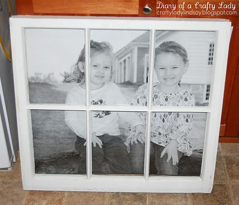 Old Window, Big Picture