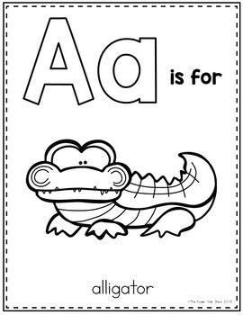 Zoo Animals Alphabet Coloring Pages Alphabet Coloring Pages Alphabet Coloring Preschool Coloring Pages
