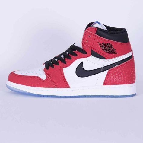 save up to 80% hot sales various styles Nike-Air-Jordan 1 Retro High Og - Origin Story - Spiderman ...