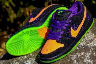 Nike Sb Dunk Low Night Of Mischief Bq6817 006 Store List Sneakernews Com Nike Sb Dunks Nike Sb Nike