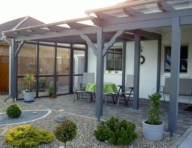 Terrassenüberdachung holz  terrassenüberdachung holz glas - Google-Suche | Garten | Pinterest ...