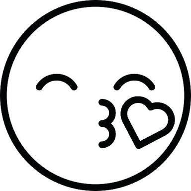 Printable Colouring Pages Emoji V 2020 G