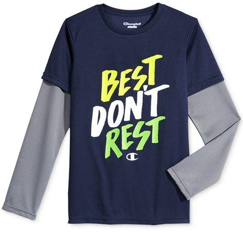 fb70758f123b Champion Graphic-Print Shirt