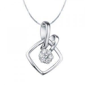 1 10 Carat Diamond Pendant On 10k White Gold Diamond Pendant Diamond Jewelry Rings Diamond