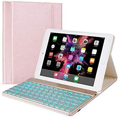 Amazon Com Ipad Keyboard Case Compatible With Ipad 9 7 2018 6th Gen Ipad 2017 5th Gen Ipad Pro 9 7 Ip In 2020 Ipad Keyboard Ipad Keyboard Case Keyboard Case