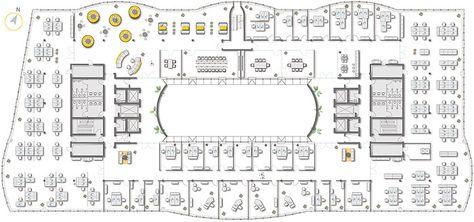 Variante Kombination Klein- und Großraumbüros
