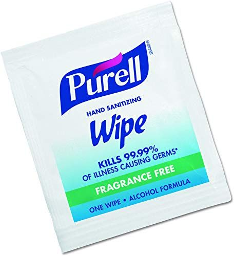 Chic Purell Hand Sanitizing Wipes Alcohol Formula Fragrance Free