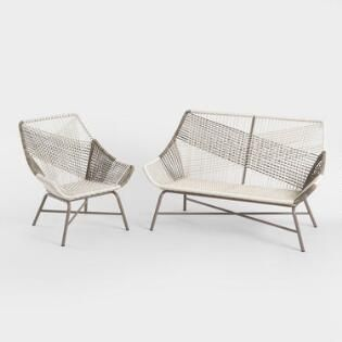 Super Gray All Weather Andalusia Outdoor Seating Collection Creativecarmelina Interior Chair Design Creativecarmelinacom