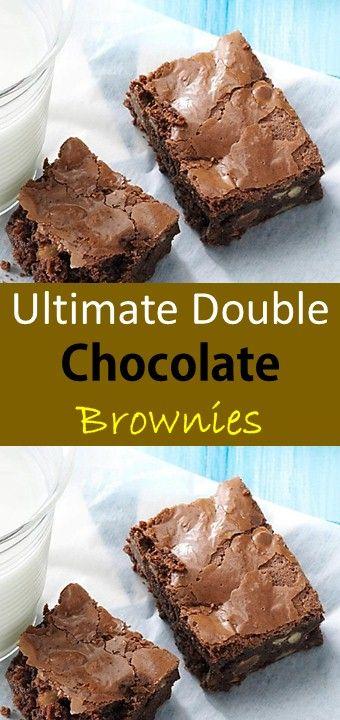 Ultimate Double Chocolate Brownies Gluten Free Chocolate Cake