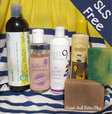 Being Sulphate Free (Part 1) | Cheap and Effective SLS Free Shampoo In India | Sweet and Bitter Blog - Indian Beauty Blog
