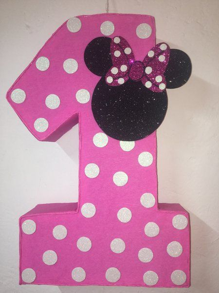 Minnie mouse birthday party minnie mouse pink Minnie mouse birthday decoration minnie mouse pink pinata Minnie party supplies minni pinata Minnie Mouse birthday Minnie mouse pinata