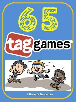 65 Tag Games! (Physical Education / Gym Game / Camp Games