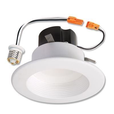 Halo Pot Can Light Rl560wh9840c Led 75 Watt Equivalent White Dimmable Led Recessed Retrofit Downlight Recessed Lighting Dimmable Led Recessed Ceiling Lights