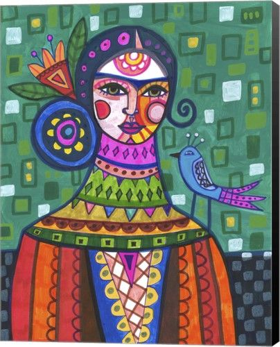 Great Art Now Frida 29 By Heather Galler Canvas Wall Art