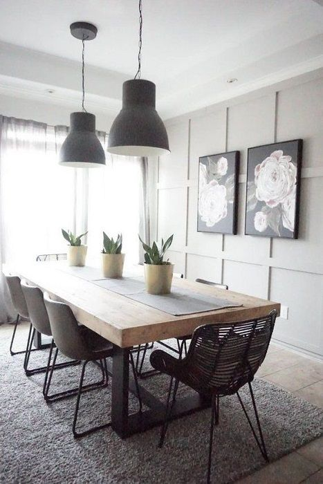 Find Out Minimalist Dining Room Design Ideas Beautified Rustic