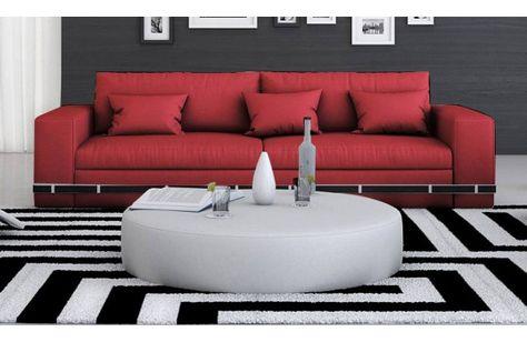 Canape En Tissu Antara 2 Ou 3 Places Selon Votre Interieur Une Couleur Rouge Qui Donnera A Ce Canape Toute La Chaleur Desir Canape Design Canape Tissu Design