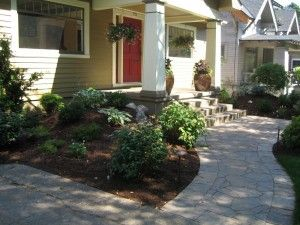 front sidewalk and landscaping for a craftsman style house gardening goodness pinterest craftsman style houses craftsman style and craftsman - Craftsman Garden Decor