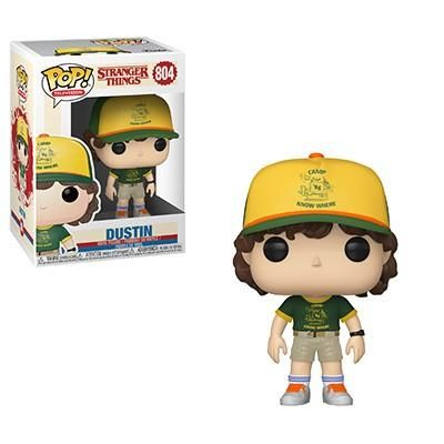 Funko POP! Stranger Things - Dustin (At Camp) Outfit Vinyl Figure #804